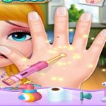 Evie Hand Doctor Fun Games for Girls Online Baby