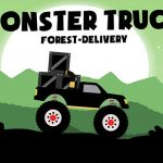 Monster Truck: Forest Delivery