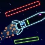 Neon Rocket Game