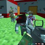 Shooting Zombie Blocky combat Warfare