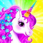 Unicorn Dress Up like Princess
